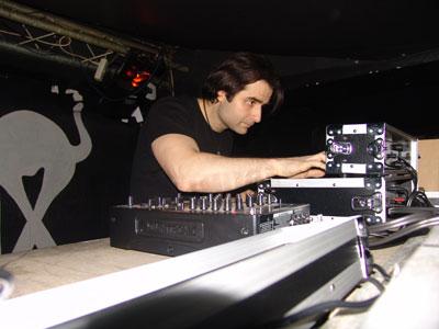 DJ Vitaliy Stranger at Electro Prague Festival 2008